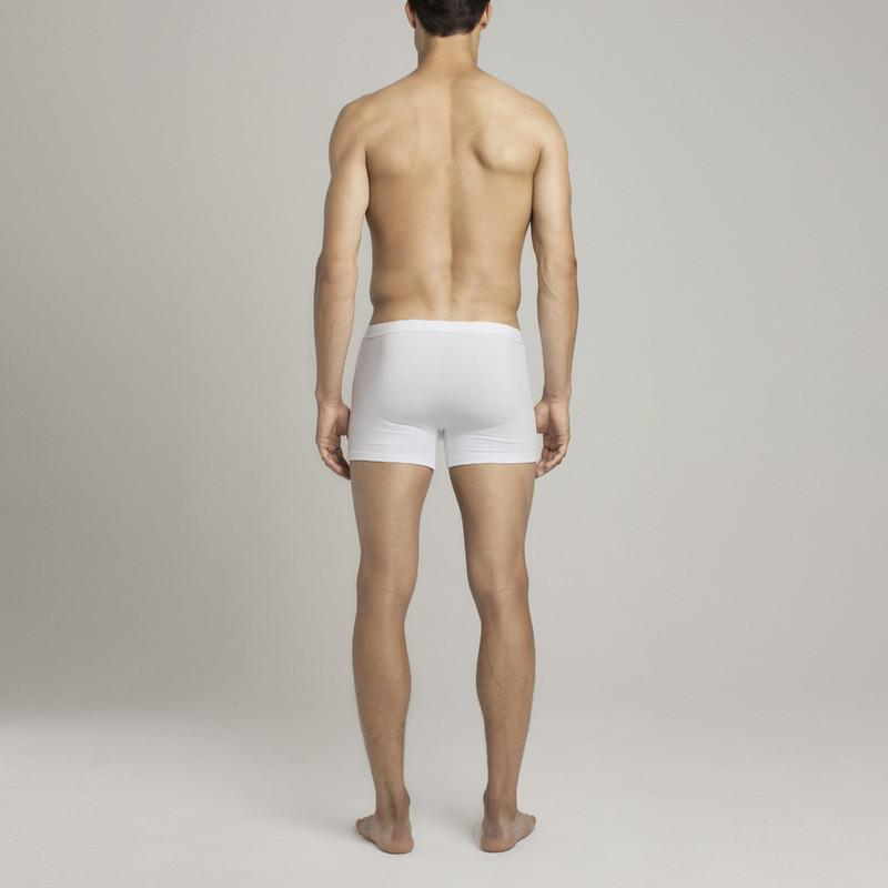 Mens Underwear - Bond Trunk - White⎪Etiquette Clothiers