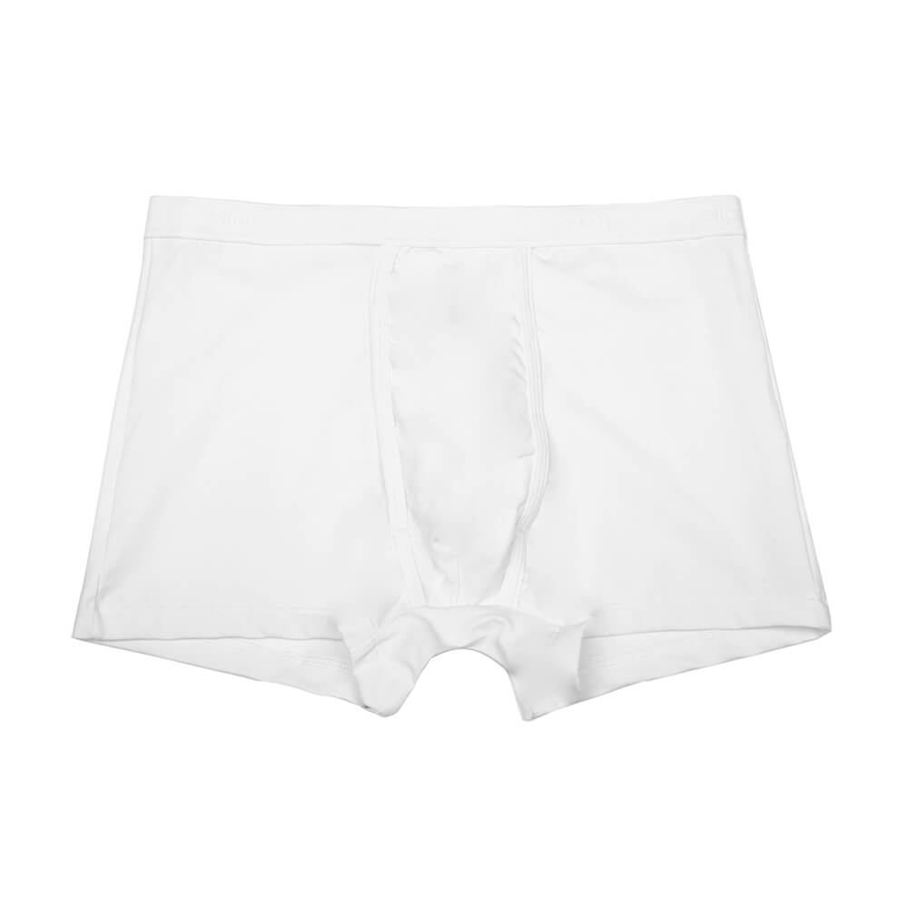 Mens Underwear - Men's Bond Trunks 3 Pack - White⎪Etiquette Clothiers