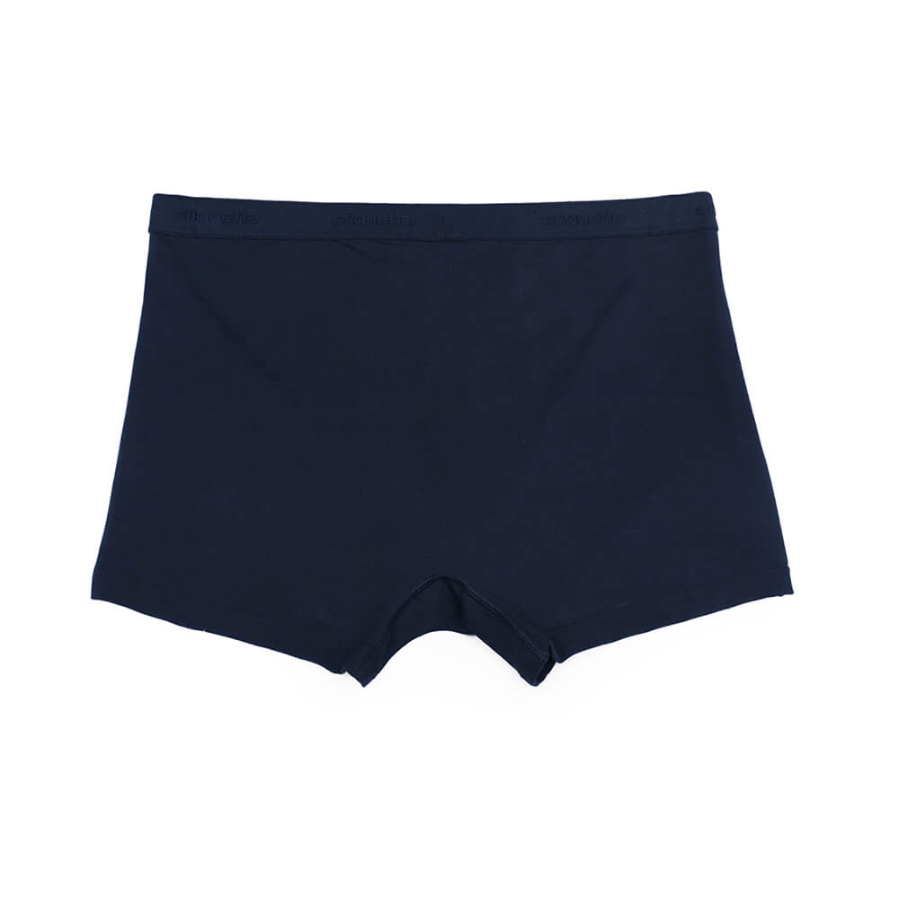 Mens Underwear - Men's Bond Trunks 3 Pack - Dark Blue⎪Etiquette Clothiers
