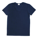 Mens Underwear - Men's Mulberry V Neck T Shirt - Blue⎪Etiquette Clothiers