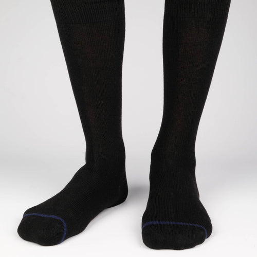Cashmere x Merino Men's Socks  - Alt view