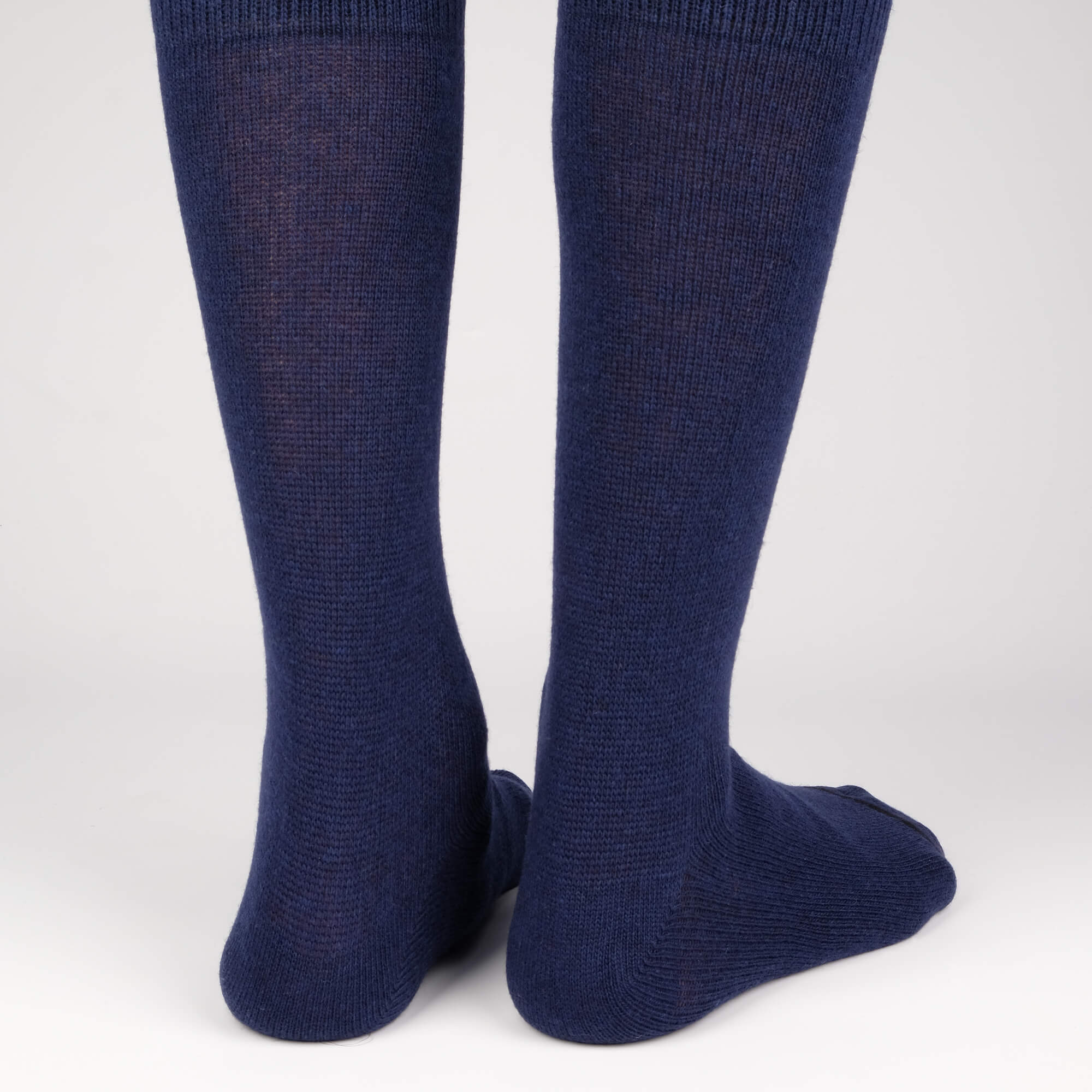 Mens Socks - Cashmere x Merino Men's Socks - Blue⎪Etiquette Clothiers