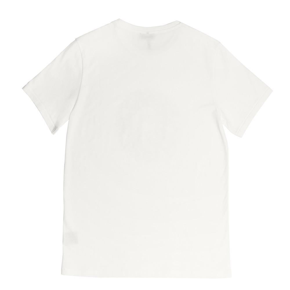 Mens Loungewear - Men's Graphic Bedford Crew Neck T-Shirt - White⎪Etiquette Clothiers
