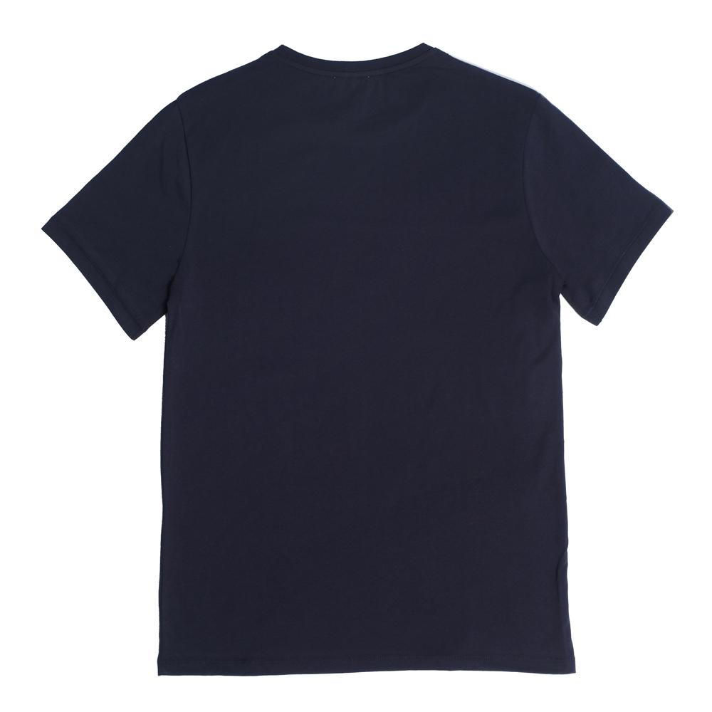 Mens Loungewear - Men's Bedford Pocket Crew Neck T-Shirt - Dark Blue⎪Etiquette Clothiers