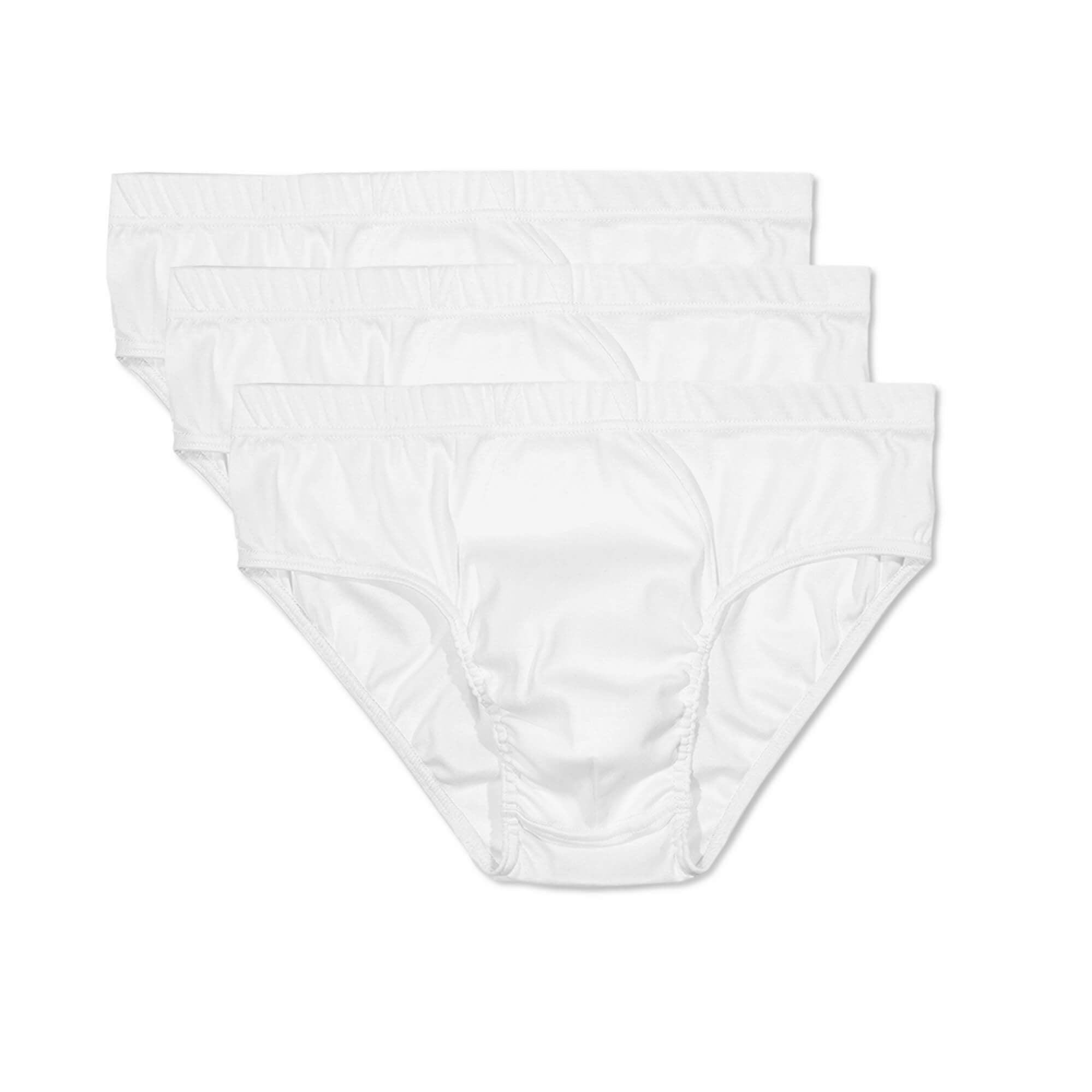Mens Underwear - The Fifth Men's Briefs 3 Pack - White⎪Etiquette Clothiers