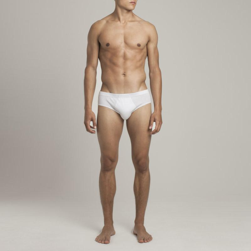 Mens Underwear - The Fifth Men's Briefs - White⎪Etiquette Clothiers
