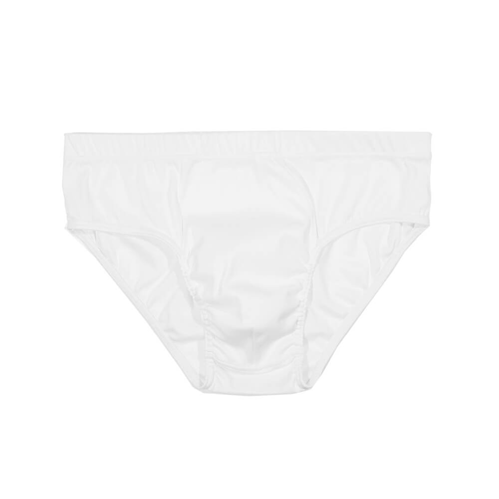 Mens Underwear - The Fifth Men's Brief 3 Pack - White⎪Etiquette Clothiers