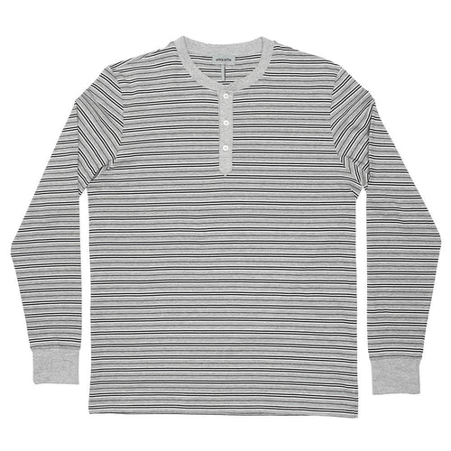 Men's George Henley Crewneck Long Sleeve