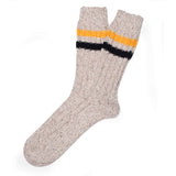 Mark Mc Nairy Wool Boot Socks - Brown - Thumb Image 1