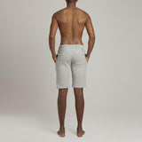Mens Loungewear - Men's Leroy Terry Slim Fit Shorts - Grey⎪Etiquette Clothiers