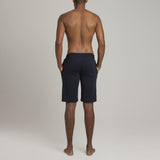 Mens Loungewear - Men's Leroy Terry Shorts - Blue⎪Etiquette Clothiers
