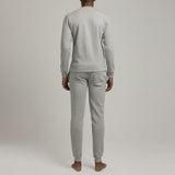 Mens Loungewear - Men's Washington Sweatshirt - Grey⎪Etiquette Clothiers