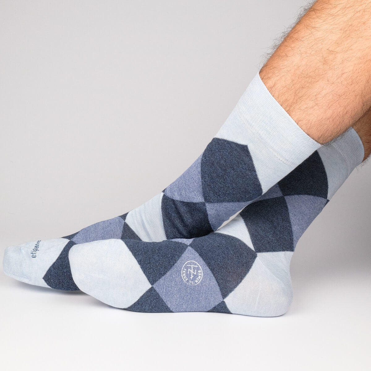 Mens Socks - Tenue de Nimes Men's Socks Gift Box - Blue⎪Etiquette Clothiers