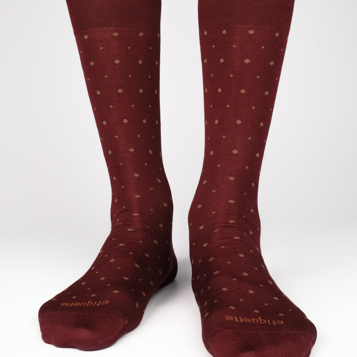 Mens Socks - Shades of Burgundy Men's Socks Gift Box - Bordeaux⎪Etiquette Clothiers