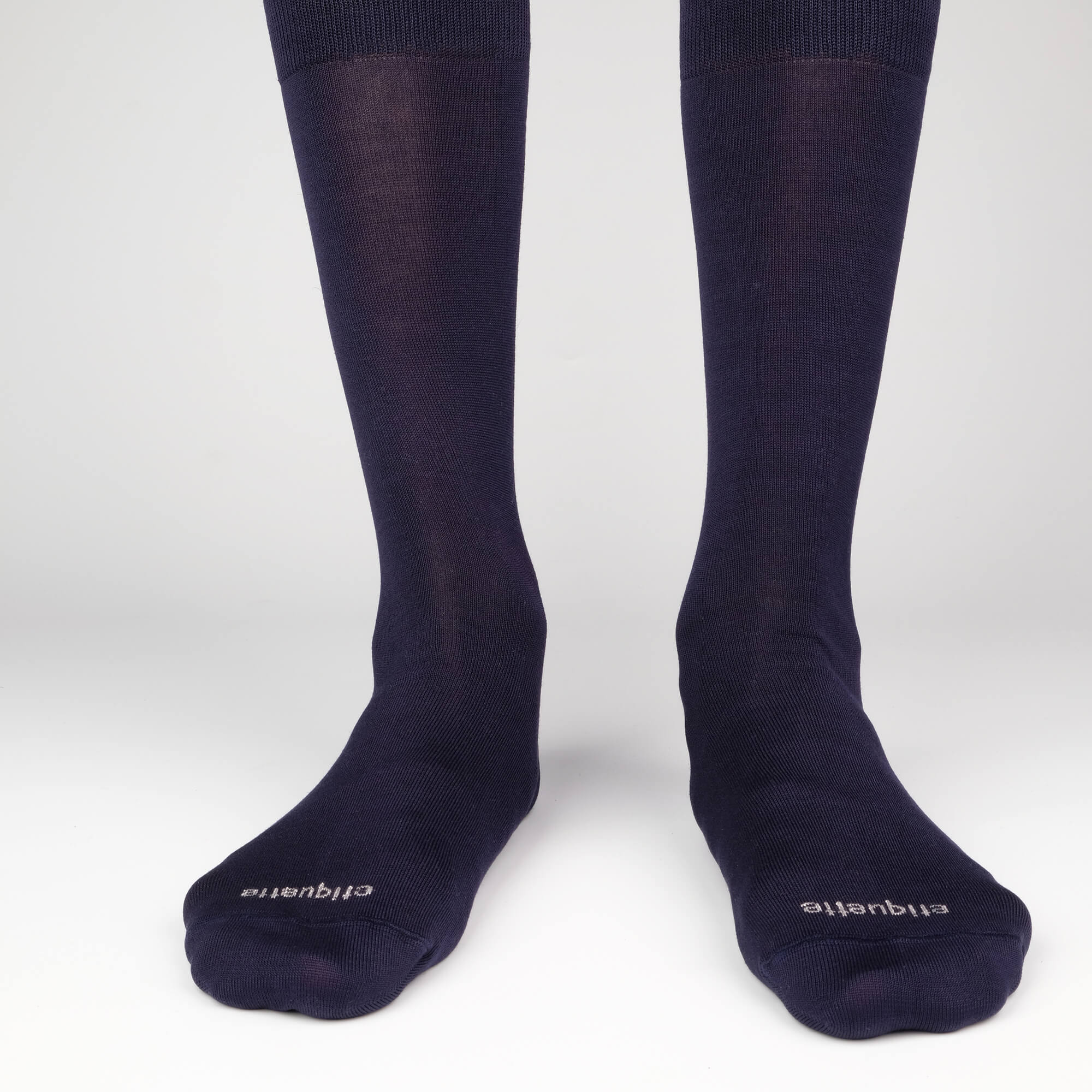 Mens Socks - Men's Crew Dress Socks 3 Pack - Navy⎪Etiquette Clothiers