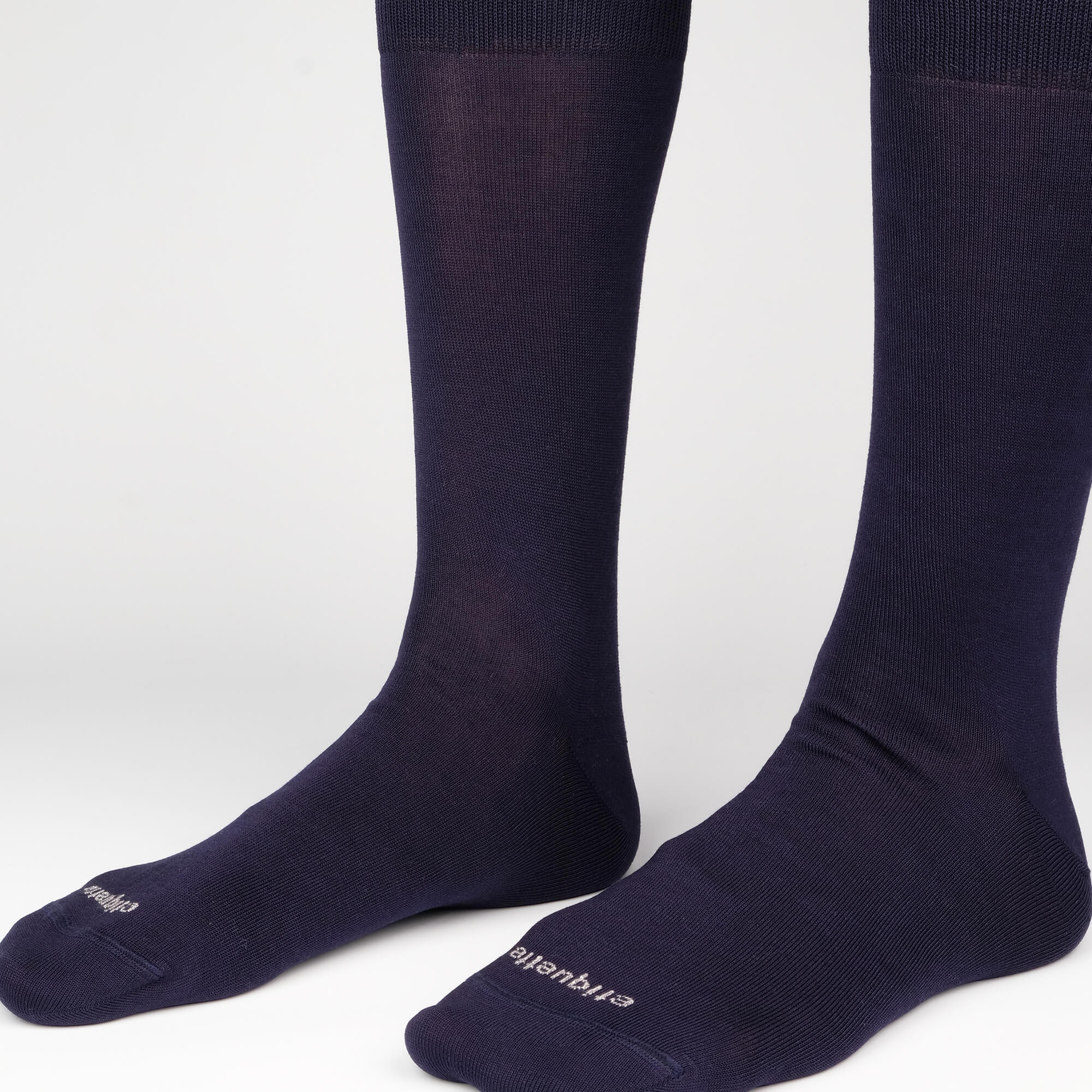 Mens Socks - Basic Luxuries Men's Socks - Navy⎪Etiquette Clothiers