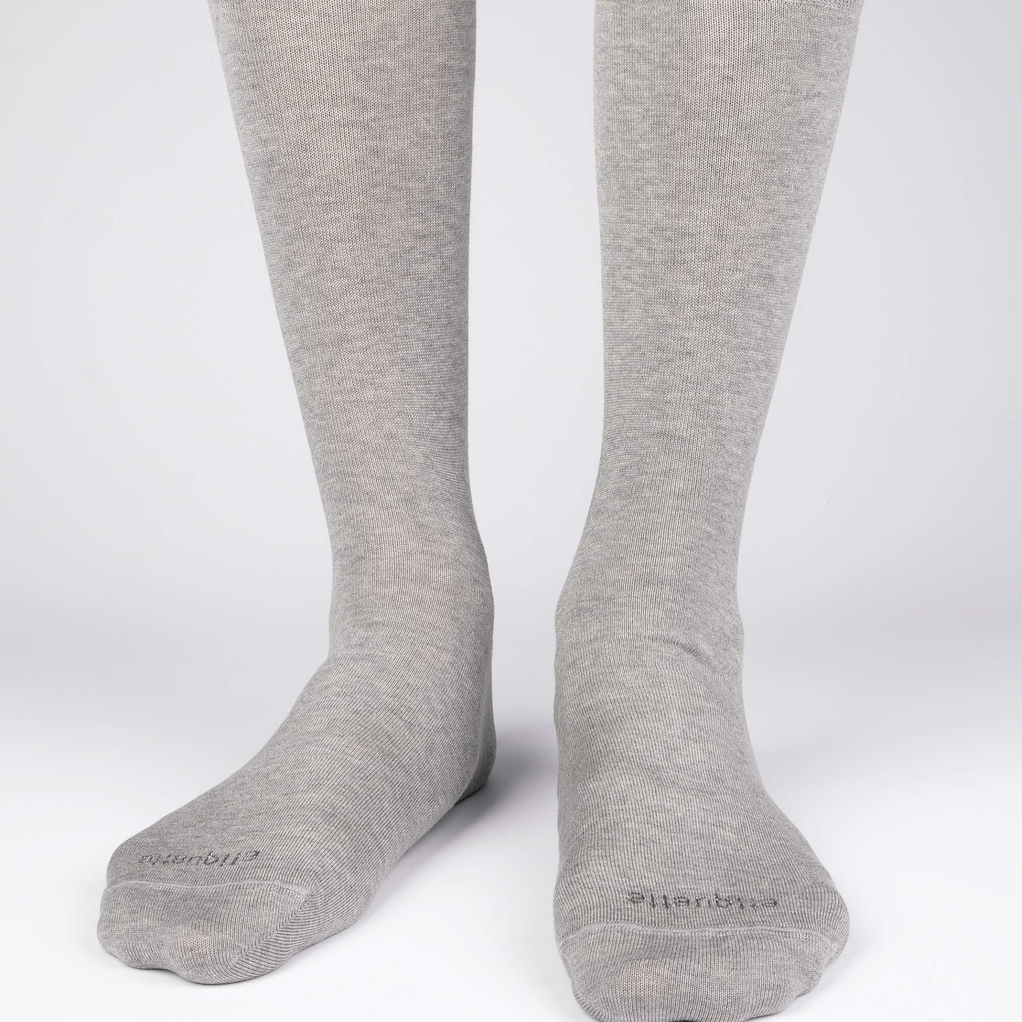 Mens Socks - Basic Luxuries Men's Socks - Light Grey⎪Etiquette Clothiers