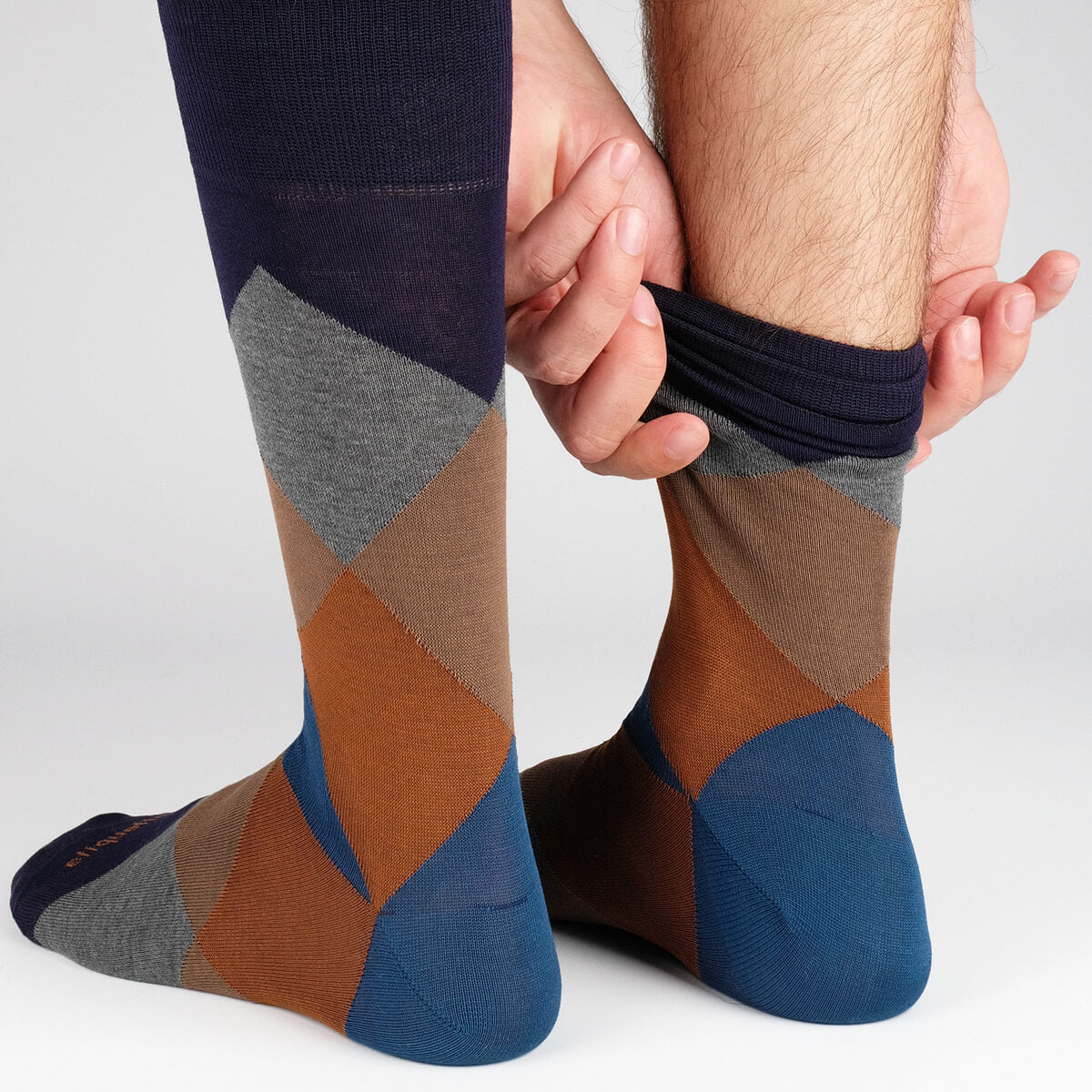 Mens Socks - Shades of Midnight Men's Socks Gift Box - Navy⎪Etiquette Clothiers