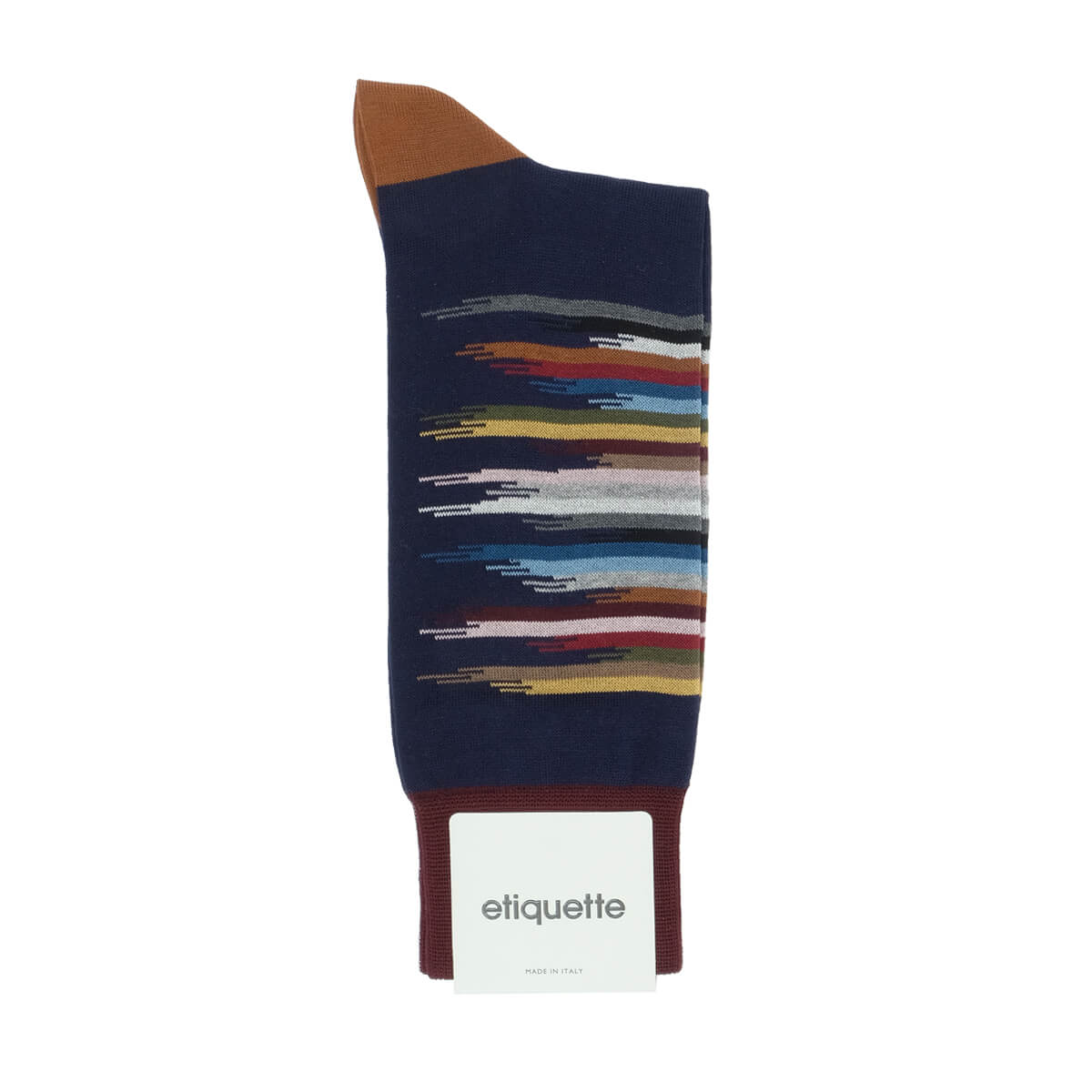 Mens Socks - Idyllic Men's Socks - Dark Blue⎪Etiquette Clothiers