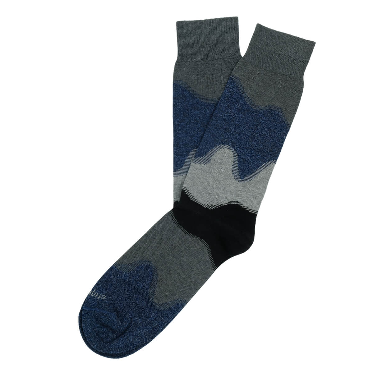 Mens Socks - Idyllic Men's Socks - Dark Grey⎪Etiquette Clothiers