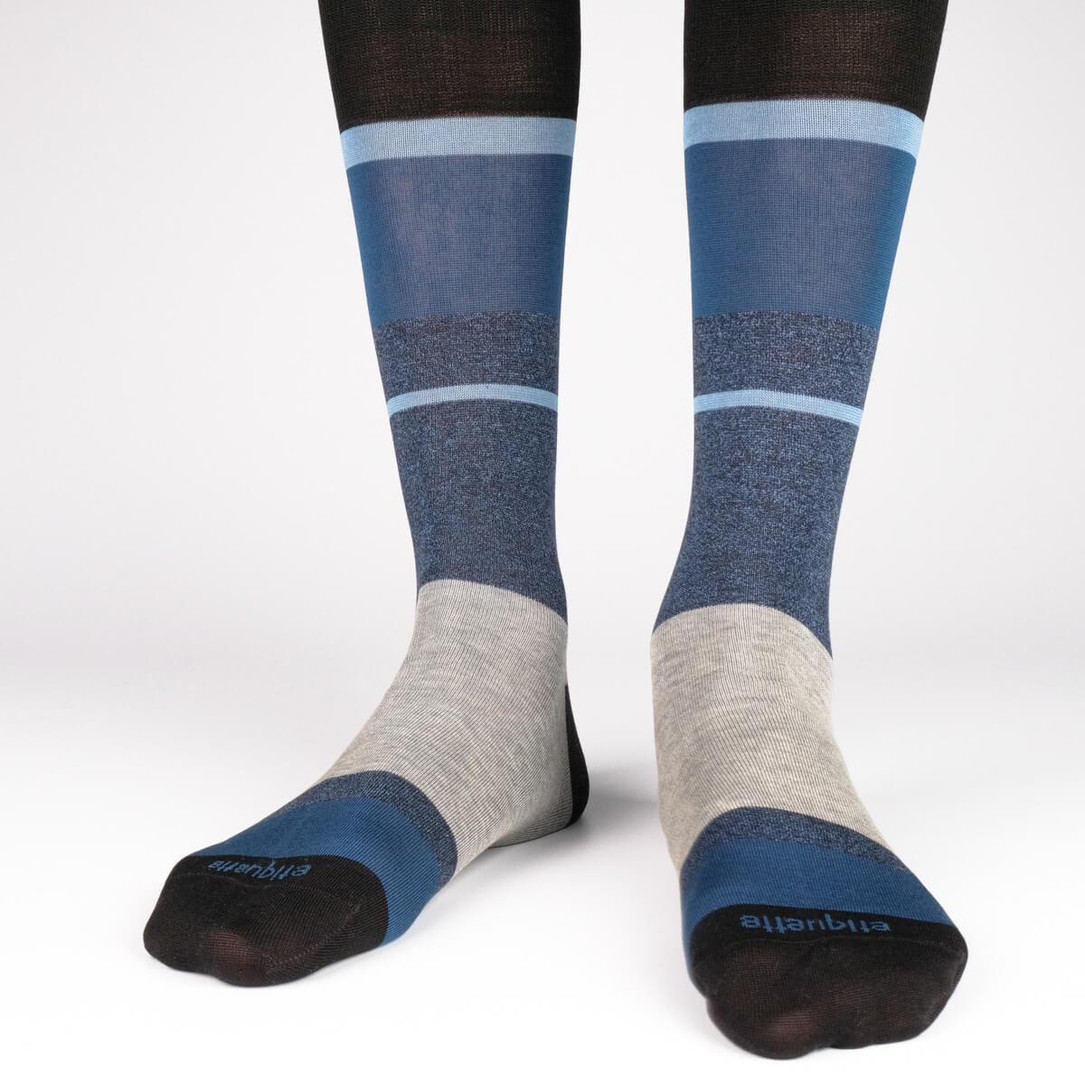 Mens Socks - Shades of Indigo Gift Box - Blue⎪Etiquette Clothiers