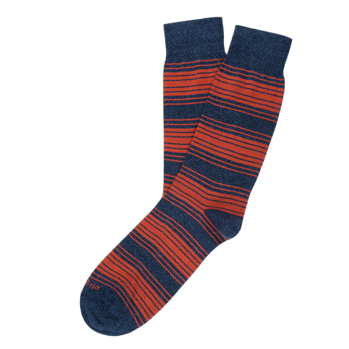 Mens Socks - Tokyo Stripes Men's Socks - Blue⎪Etiquette Clothiers
