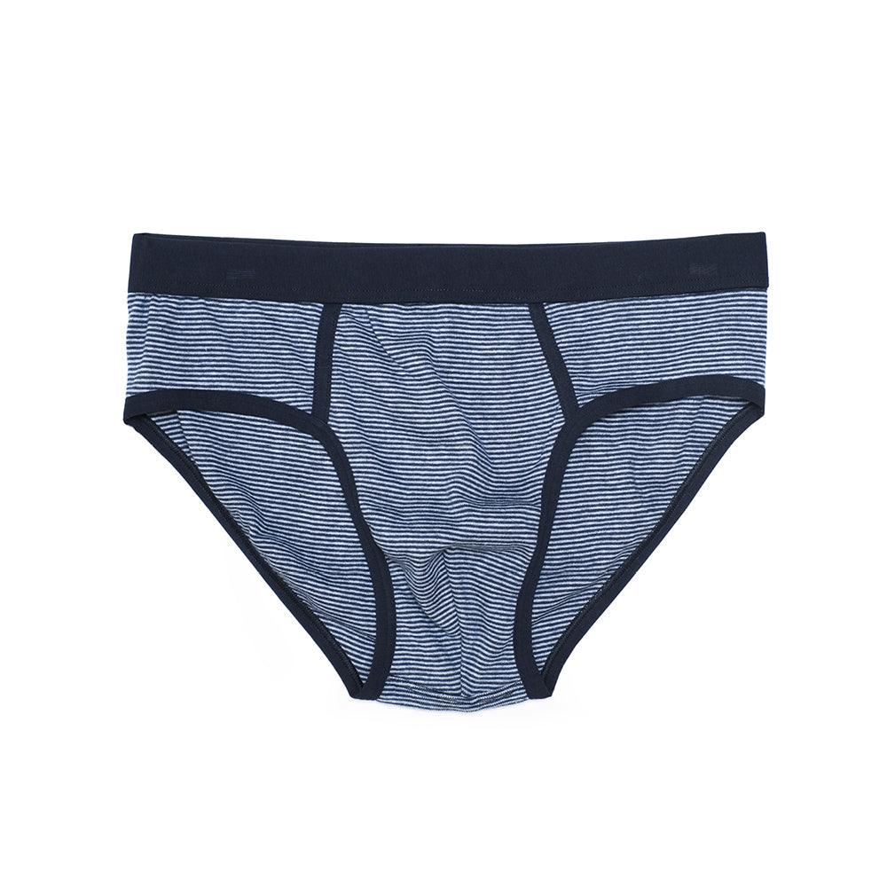 Mens Underwear - Men's Prince Briefs - Blue⎪Etiquette Clothiers