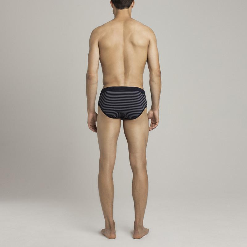 Mens Underwear - Men's Prince Briefs - Dark Blue⎪Etiquette Clothiers