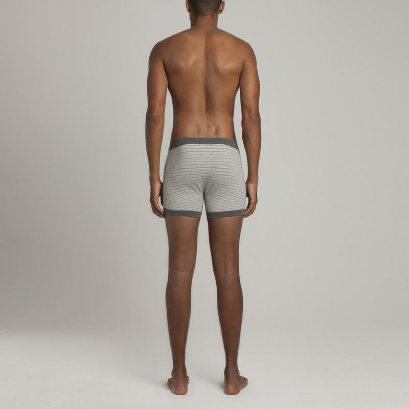 Mens Underwear - Men's Grand Trunks - Heather Grey⎪Etiquette Clothiers