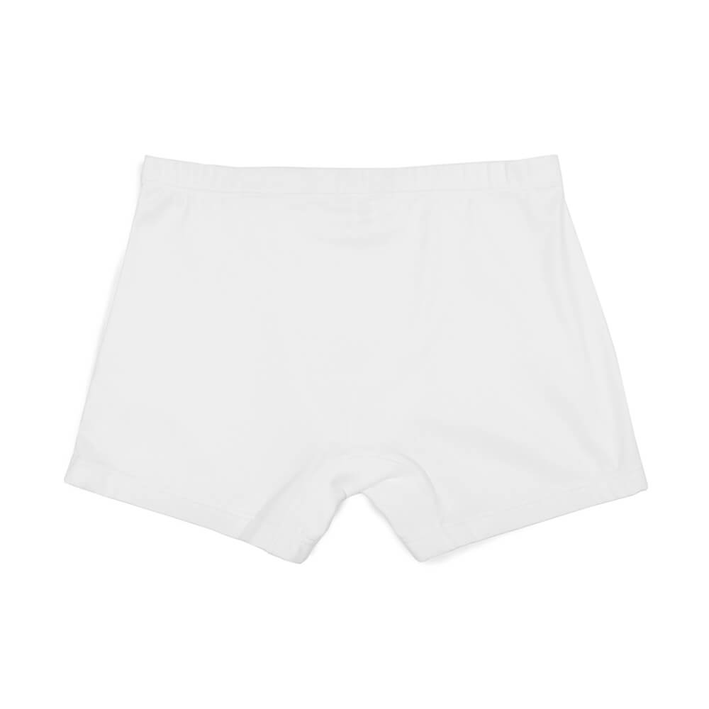 Mens Underwear - The Fifth Men's Trunks 3 Pack - White⎪Etiquette Clothiers
