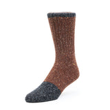 Mens Socks - Smart Nope Men's Socks - Brown⎪Etiquette Clothiers
