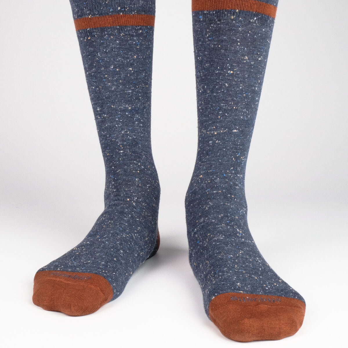Mens Socks - Smart Nope Men's Socks - Dark Blue⎪Etiquette Clothiers