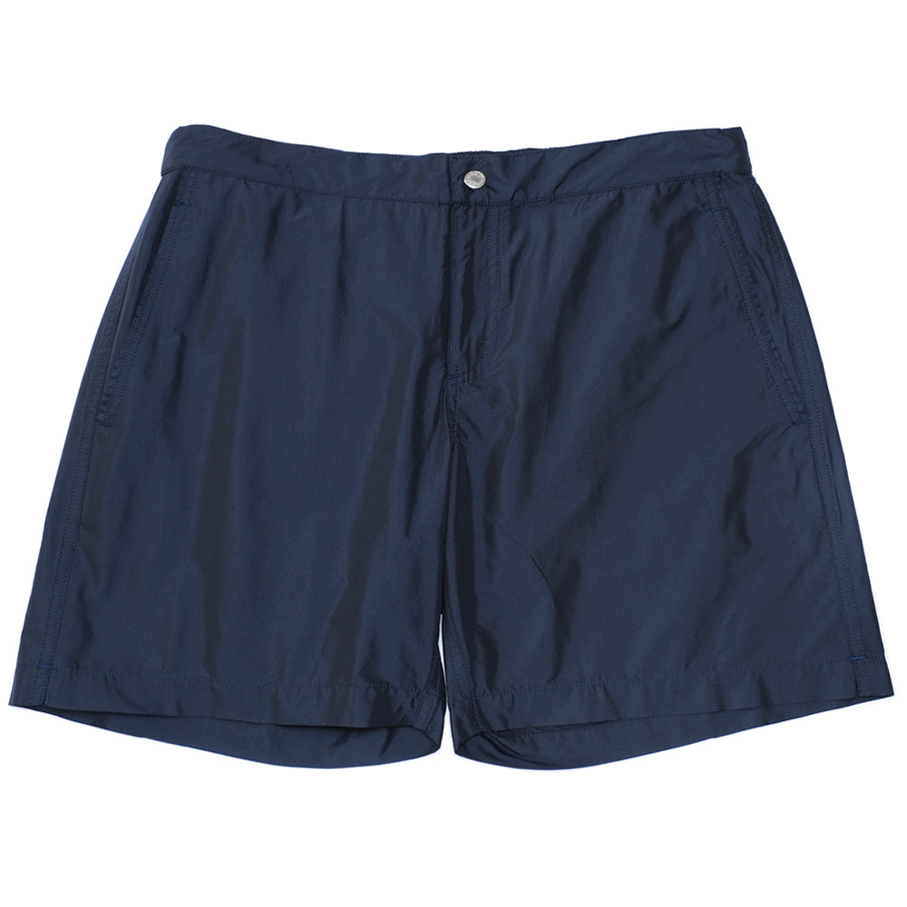 Mens Swimwear - Ariston Board Shorts - Dark Blue⎪Etiquette Clothiers