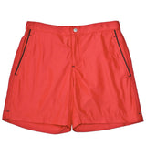 Mens Swimwear - Men's Ariston Board Shorts - Red⎪Etiquette Clothiers