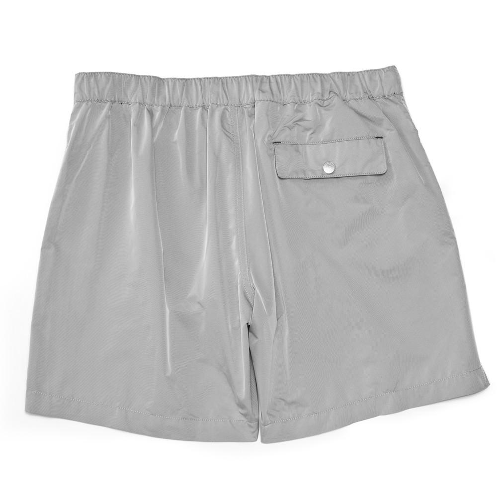 Mens Swimwear - Men's Ariston Board Shorts - Grey⎪Etiquette Clothiers