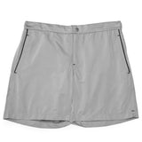 Mens Swimwear - Ariston Board Shorts - Grey⎪Etiquette Clothiers