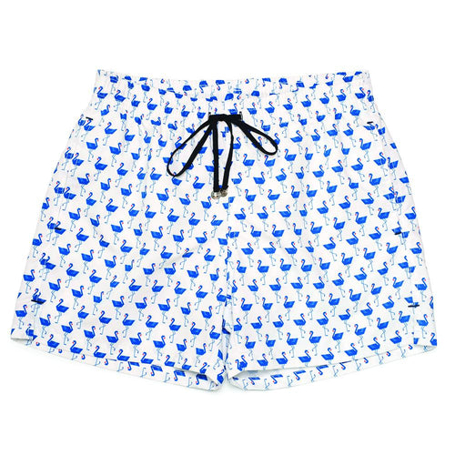 Men's Corsaro Swim Trunk Flamingo