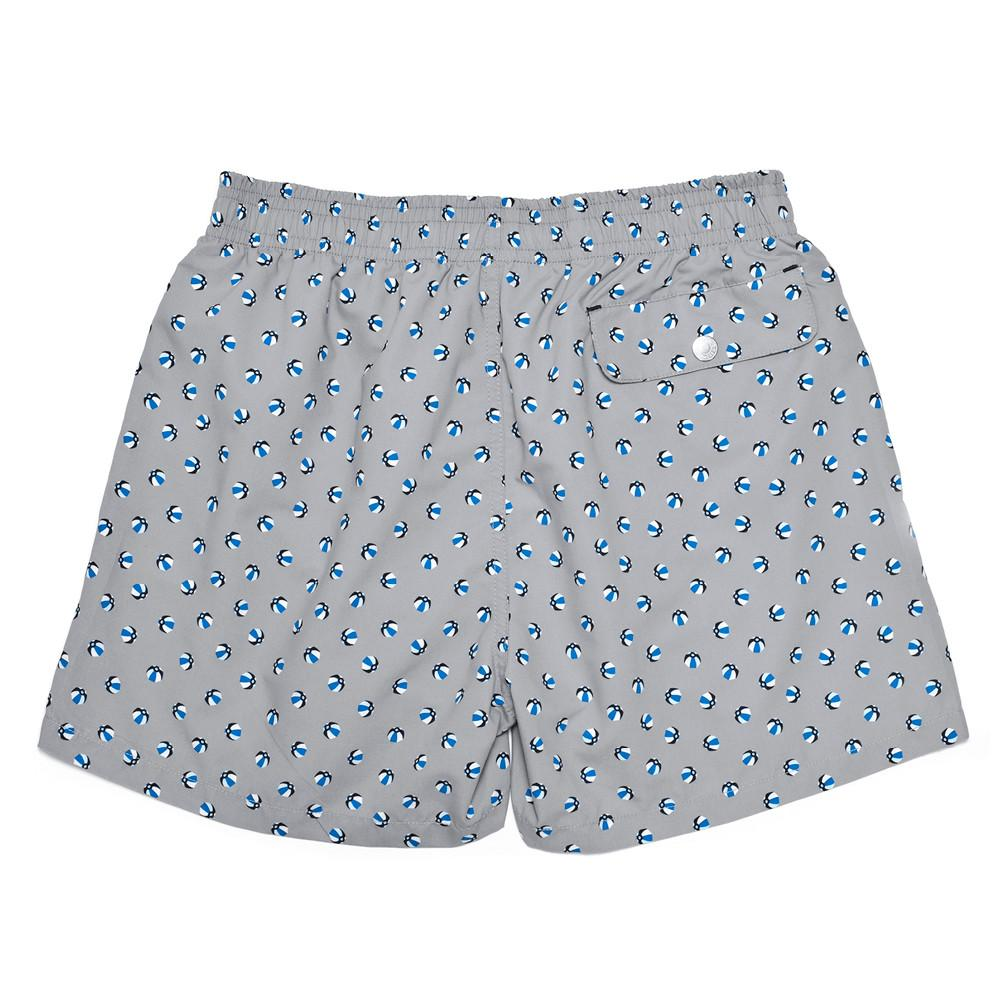 Mens Swimwear - Corsaro Swim Trunk Balls - Grey⎪Etiquette Clothiers