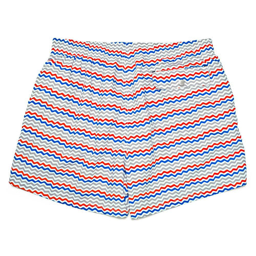 Men's Corsaro Swim Slim Fit Trunk Wave  - Alt view