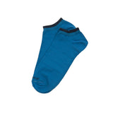 Mens Socks - Basic Luxuries Men's Ankle Socks - Blue⎪Etiquette Clothiers