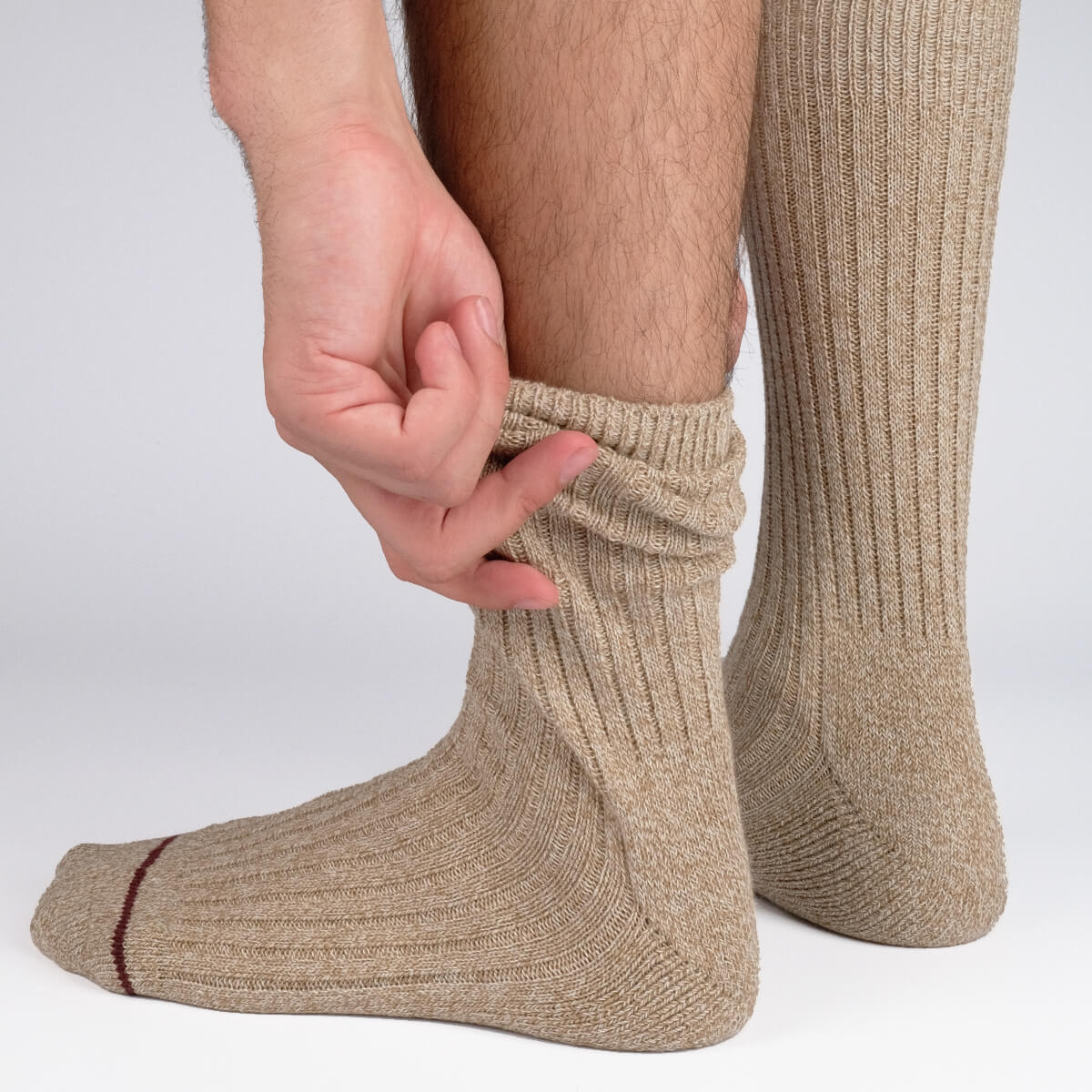 Get The Boot Socks - Brown - Image 3