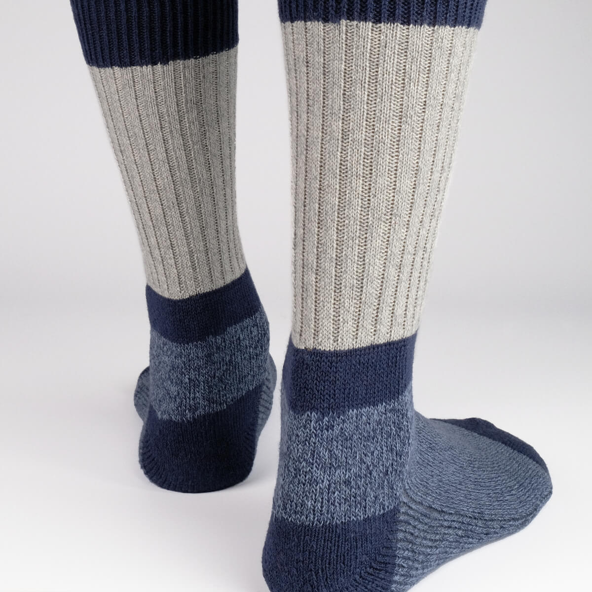 Mens Socks - Get The Boot Duo Socks - Blue⎪Etiquette Clothiers