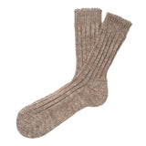 Mens Socks - Niseko Men's Socks - Brown⎪Etiquette Clothiers