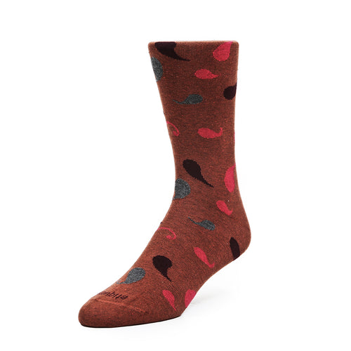 Multi Paisley Men's Socks  - Alt view