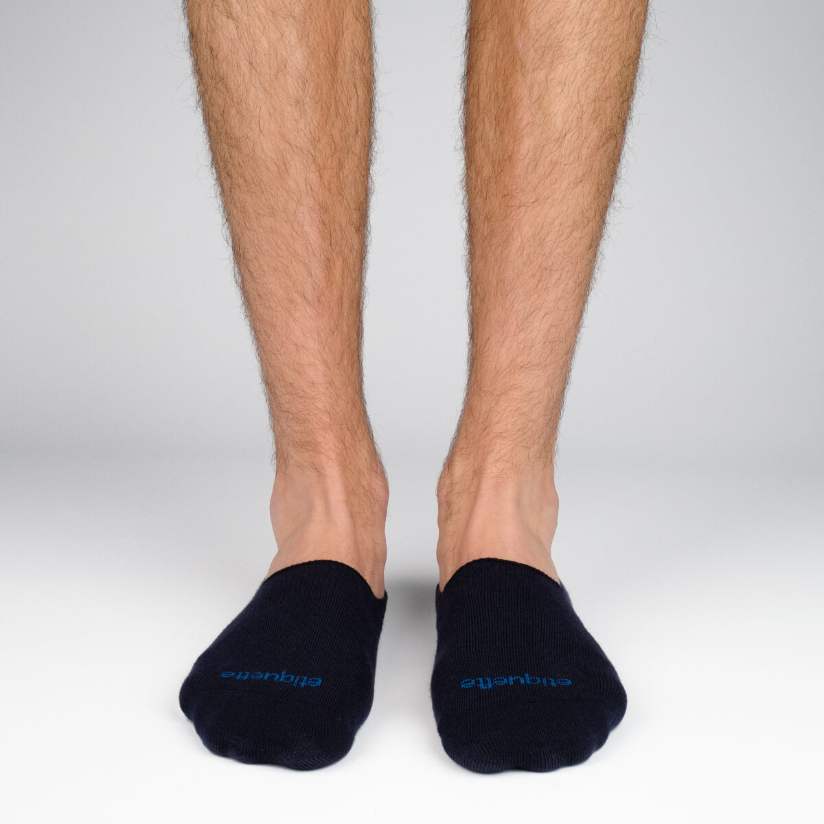 Mens Socks - Men's No Show Socks 3 Pack - Dark Blue⎪Etiquette Clothiers