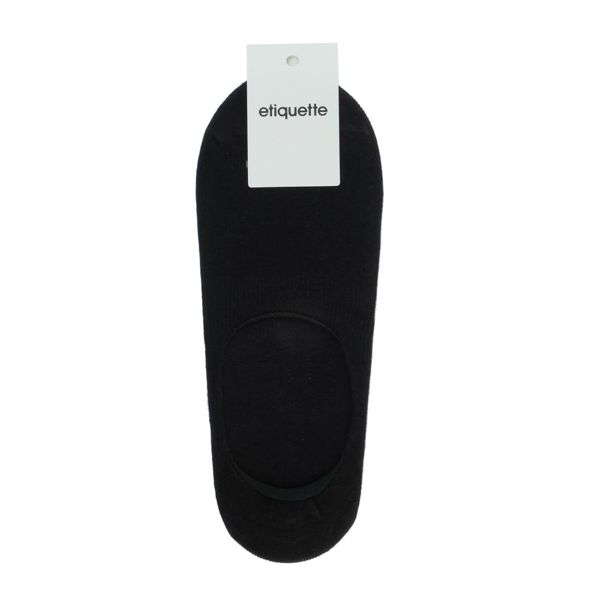 Mens Socks - Men's No Show Socks 3 Pack - Black⎪Etiquette Clothiers