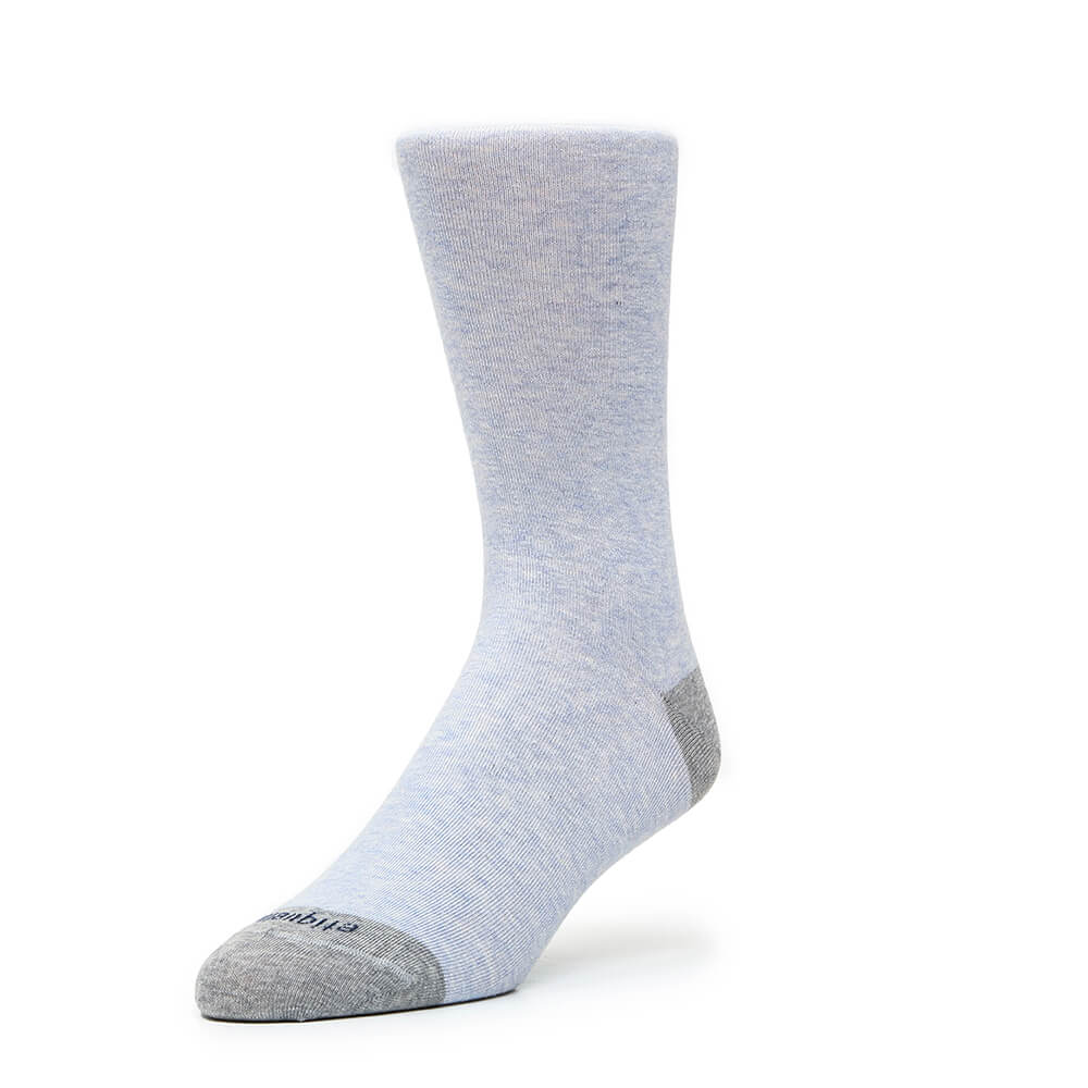 Mens Socks - Tri Pop Men's Socks - Blue⎪Etiquette Clothiers