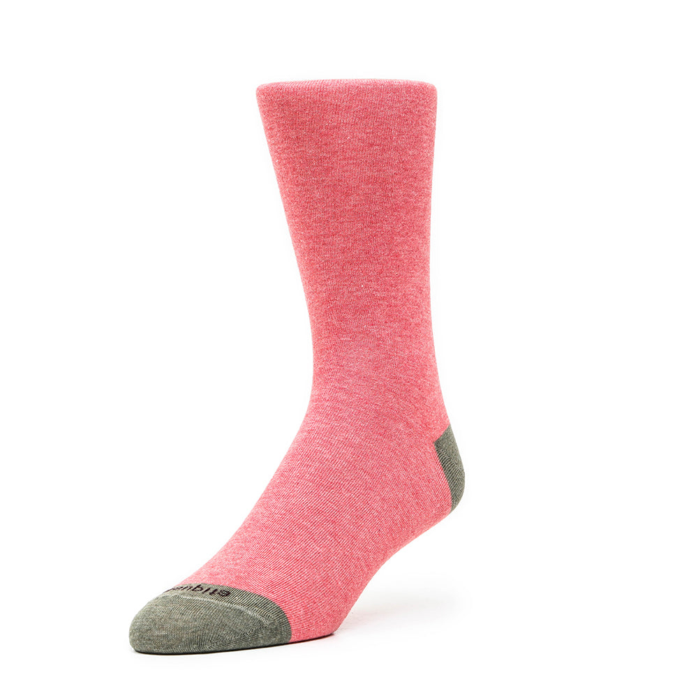Mens Socks - Tri Pop Men's Socks - Pink⎪Etiquette Clothiers