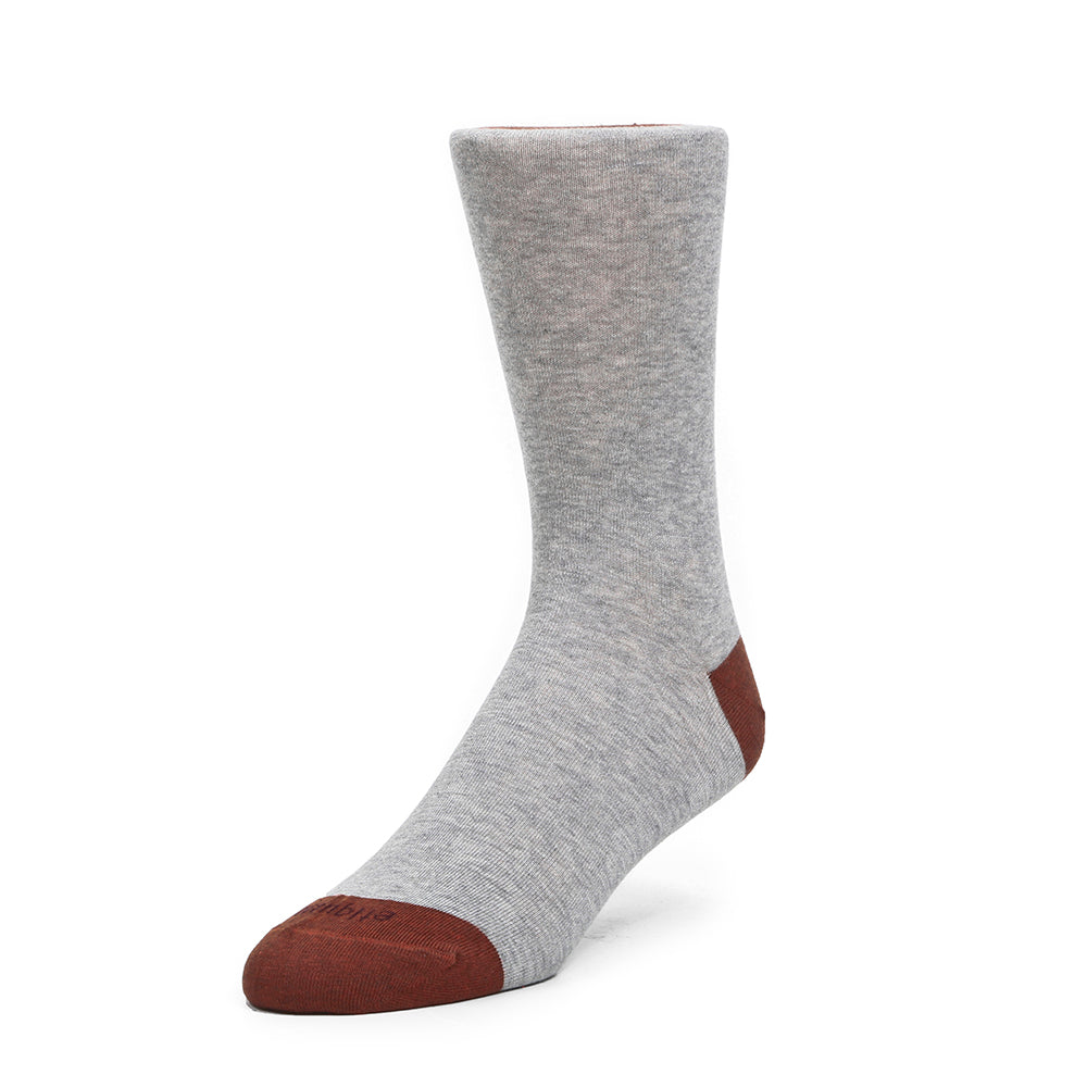 Mens Socks - Tri Pop Men's Socks - Grey⎪Etiquette Clothiers