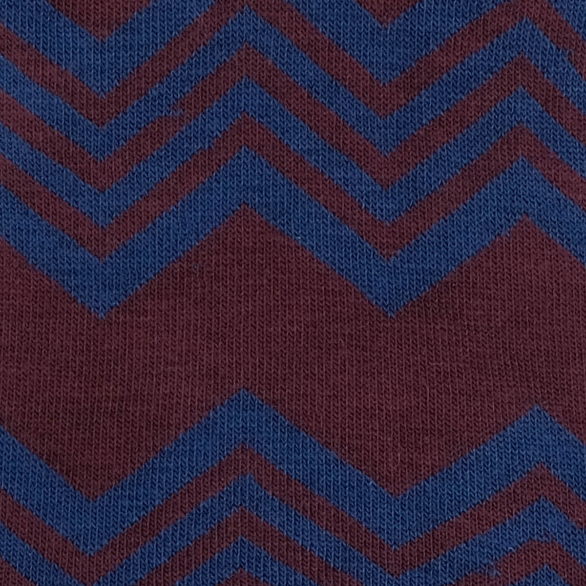 Womens Socks - Alpine Stripes Women's Socks - Bordeaux⎪Etiquette Clothiers